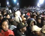Wal-Mart crowd
