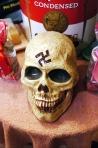 Skull with Swastika