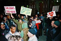 Sam Adams Protest