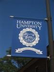 Hampton U Flag