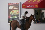 Mcdonalds by Horse