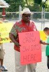 Jim Crow Sign