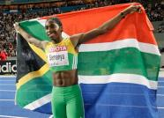 Semenya and Flag