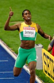 Semenya Victory Run